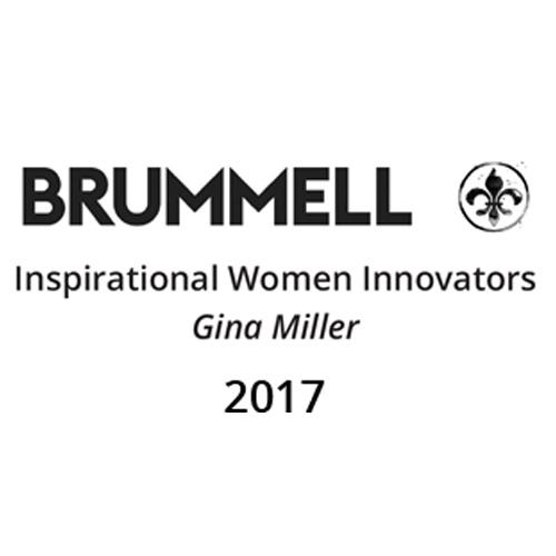 Brummell Inspiration Woman innovators award