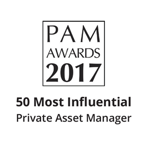 50 Most influential asset manager award