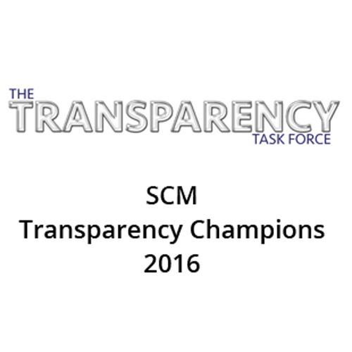 Transparency award